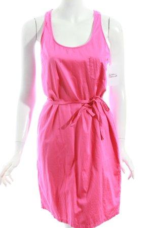 Boss Orange Trägerkleid pink Beach-Look
