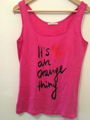 Boss Orange Trägershirt pink