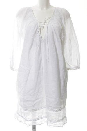 Boss Orange Robe tunique blanc style décontracté