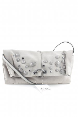 Boss Orange Crossbody bag light grey-silver-colored elegant