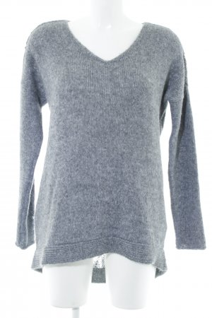 Boss Orange Wollpullover grau Casual-Look