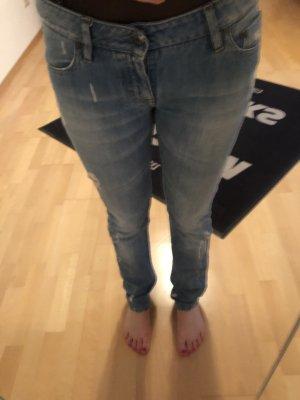 Boss Orange Jeans taille basse bleu azur-bleuet