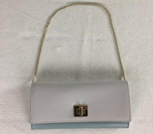 Boss, Portemonnaie, Leder, blau-grau-weiß, Leder, neu, € 400,-