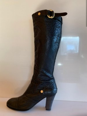Boss Orange High Heel Boots black leather