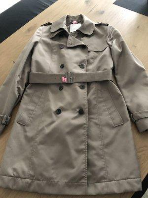 Hugo Boss Trenchcoat grijs-bruin