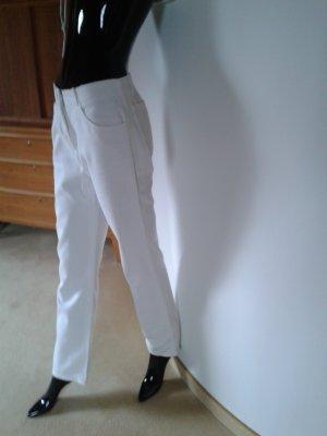 Boss weiße Hose aus sehr guter fester Baumwollqualität