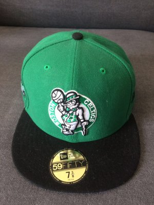 New Era Berretto da baseball nero-verde bosco