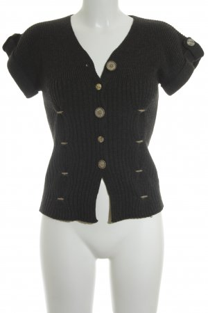 Bottega Cardigan anthrazit-beige Casual-Look
