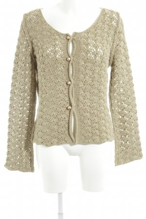 Bottega Grobstrickjacke creme Casual-Look