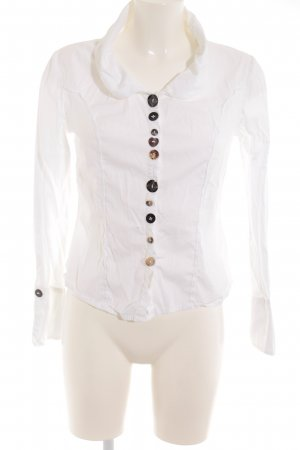 Bottega Hemd-Bluse weiß Casual-Look