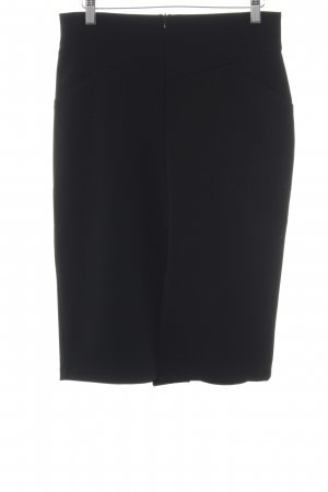 Bottega High Waist Rock schwarz Business-Look