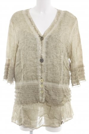 Bottega Jersey Twin Set Maltechnik-Muster Casual-Look