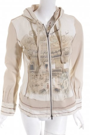 Bottega Kapuzenjacke Motivdruck Casual-Look