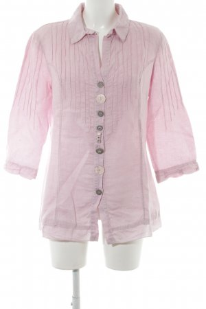 Bottega Long Sleeve Blouse pink casual look