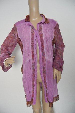 Bottega lange Bluse gr.XL pink Italien