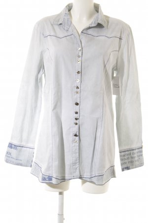 Bottega Long-Bluse himmelblau Casual-Look