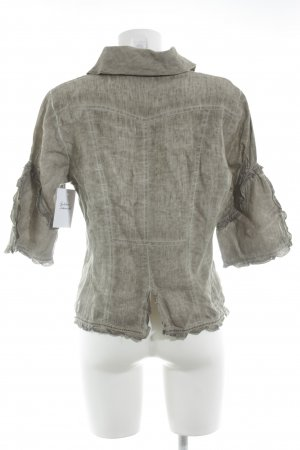 Bottega Shirt Jacket oatmeal casual look