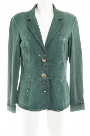 Bottega Shirt Jacket forest green casual look