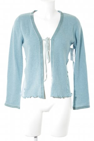 Bottega Strickjacke blassblau Casual-Look