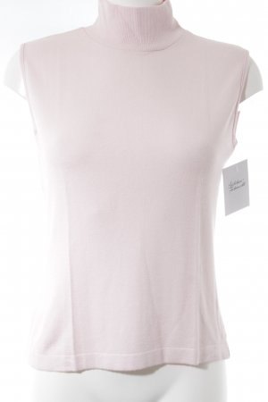 Bottega Knitted Top light pink casual look