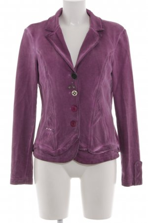 Bottega Sweatblazer lila Casual-Look