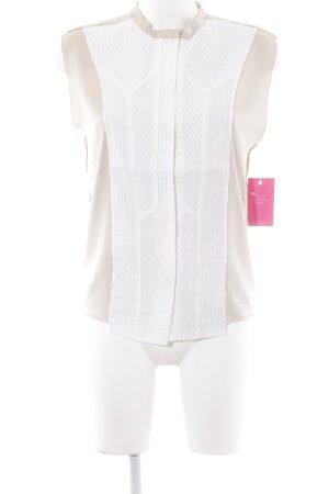 Bottega Veneta Blouse sans manche rose chair-crème style d'affaires