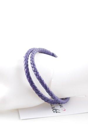 Bottega Veneta Braccialetto sottile viola scuro stile casual