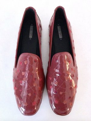 Bottega Veneta Patent Leather Ballerinas multicolored leather
