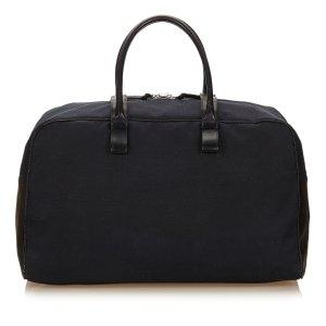 Bottega Veneta Canvas Duffel Bag