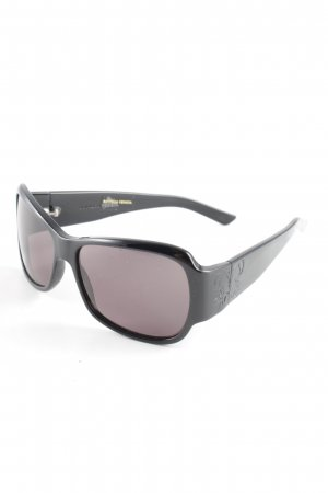 Bottega Veneta Angular Shaped Sunglasses black urban style