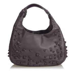 Bottega Veneta Hobos dark brown leather