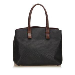 Bottega Veneta Embossed Marco Polo Leather Tote Bag