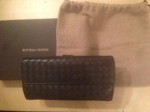 Bottega Veneta Geldbörse, Leder, schwarz