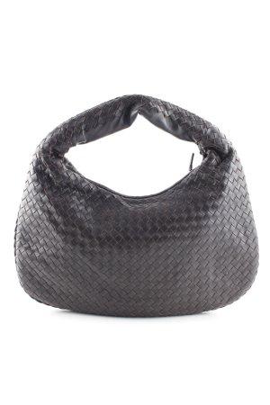 Bottega Veneta Handtasche dunkelbraun klassischer Stil