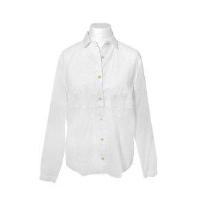 Bottega Veneta Hemdbluse in Weiß