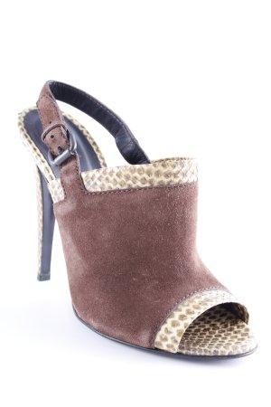 Bottega Veneta High Heel Sandaletten Animalmuster extravaganter Stil