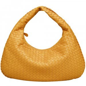 Bottega Veneta Hobos gold orange leather