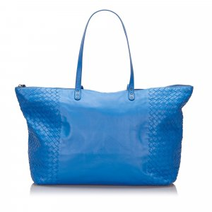 Bottega Veneta Tote blue leather