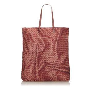 Bottega Veneta Intrecciato Nylon Tote Bag