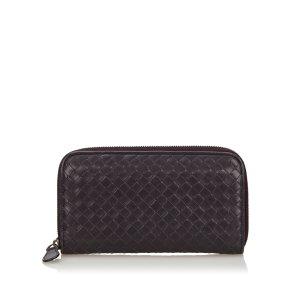 Bottega Veneta Wallet purple leather