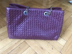Bottega Veneta Kleine Tote Bag bordeaux rot
