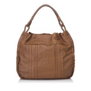 Bottega Veneta Leather Intrecciato Bag