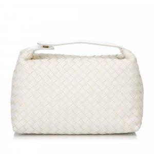 Bottega Veneta Leather Intrecciato Handbag
