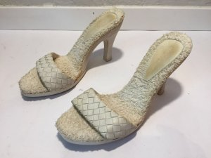 Bottega Veneta Pool-Pumps mit Frottee Gr.36,5