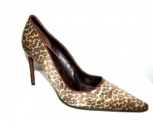 BOTTEGA VENETA Pumps im Leoparden-Look Gr. 39