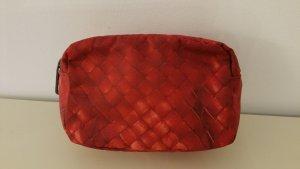 Bottega Veneta   rotes kleines Täschchen aus Nylon  - NEU