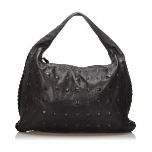 Bottega Veneta Studded Leather Hobo Bag