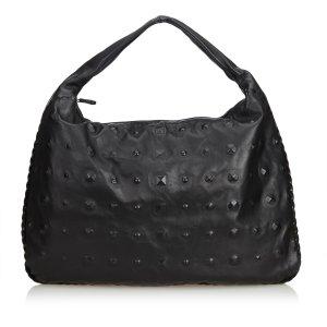 Bottega Veneta Studded Leather Hobo