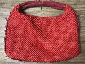 Bottega Veneta Tasche rot groß neuwertig