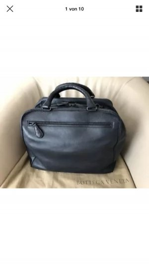 Bottega Veneta Weekender Bag blue